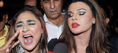 Rakhi Sawant's Friend Slapped The Director On Stage Accusing Casting Couch