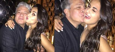 Spotted! Jannat Actress Sonal Chauhan in Cozy Moment With Suhel Seth