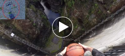 Amazing basketball experiment the magnus effect watch longest basketball game ever