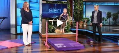 Unbelievable,3 Yr Old Gymnast Flipping Like Anything