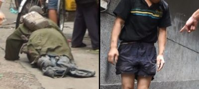 This story of a pitiful legless beggar will dismantle your sympathy for beggars