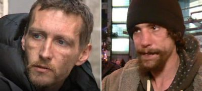 The story of two homeless men from Manchester, who are now the new heroes
