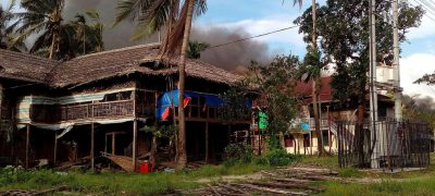 About Rohingya Muslim villages Burned by Burmese Army