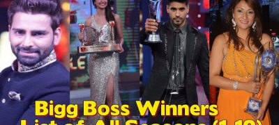 Winners of Bigg Boss from Season 1-10